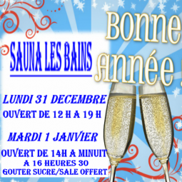 Happy New Year aux Bains